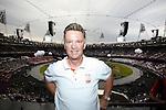 Engeland, London, 27 juli 2012.Olympische Spelen London.De openingsceremonie van de Olympische Spelen in London 2012.Louis van Gaal was ook aanwezig bij de opening van de Olympische spelen in London
