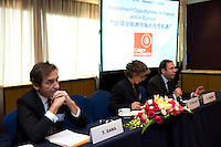 Caisse des Depots' Session 'Investment Opportunities in France and in Europe' at Shanghai / Paris Europlace Financial Forum, in Shanghai, China, on December 1, 2010. Photo by Lucas Schifres/Pictobank