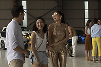 CRAZY RICH ASIANS (2018)<br /> HENRY GOLDING, CONSTANCE WU, SONOYA MIZUNO<br /> *Filmstill - Editorial Use Only*<br /> CAP/FB<br /> Image supplied by Capital Pictures