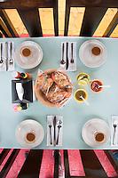 Caldo de camarón. Shrimp broth. Restaurante Chelly, El Bellote Paraiso, Tabasco, Mexico