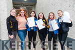 Presentation Convent , Listowel students who received their Junior Cert results on Friday morning last. L-R; Lily Canty, Ciara Walsh, Kelsey Keane, Daisy Walsh, Rebecca Houlihan & Kelli McGrath.