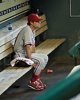Moyer, Jamie _6390.jpg Philadelphia Phillies at Houston Astros. Major League Baseball. September 7th, 2009 at Minute Maid Park in Houston, Texas. Photo by Andrew Woolley.