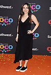 LOS ANGELES, CA - NOVEMBER 08: Actor Esther Povitsky arrives at the premiere of Disney Pixar's 'Coco' at El Capitan Theatre on November 8, 2017 in Los Angeles, California.