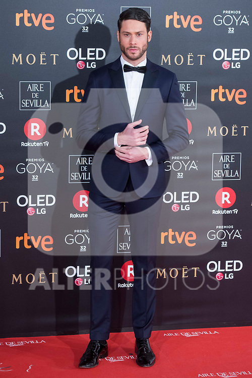 Jose Lamuno attends red carpet of Goya Cinema Awards 2018 at Madrid Marriott Auditorium in Madrid , Spain. February 03, 2018. (ALTERPHOTOS/Borja B.Hojas)