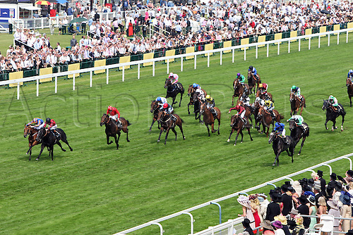 19.06.201013, Ascot, Windsor, England.  Gale Force Ten left with Joseph o Brien Up Wins The Jersey Stakes Ascot Racecourse