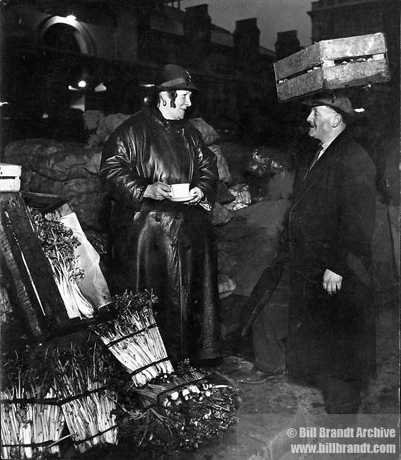 Workers in Covent Garden