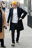 www.acepixs.com<br /> February 9, 2018 New York City<br /> <br /> Brooklyn Beckham seen in New York City on February 9, 2018.<br /> <br /> Credit: Kristin Callahan/ACE Pictures<br /> <br /> Tel: 646 769 0430<br /> Email: info@acepixs.com