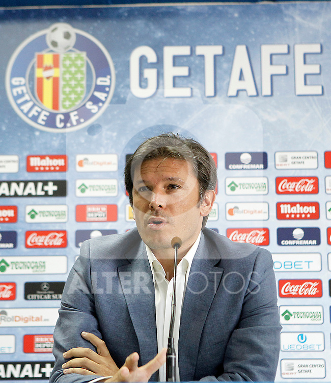 Getafe's General Manager Toni Munoz. July 21, 2014. (ALTERPHOTOS/Acero)