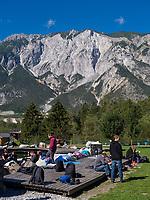 Freizeitpark Area 47, &Ouml;tztal-Bahnhof, Imst, Tirol, &Ouml;sterreich, Europa<br /> outdoor sports park Area 47, &Ouml;tztal-Bahnhof,, Imst, Tyrol, Austria, Europe