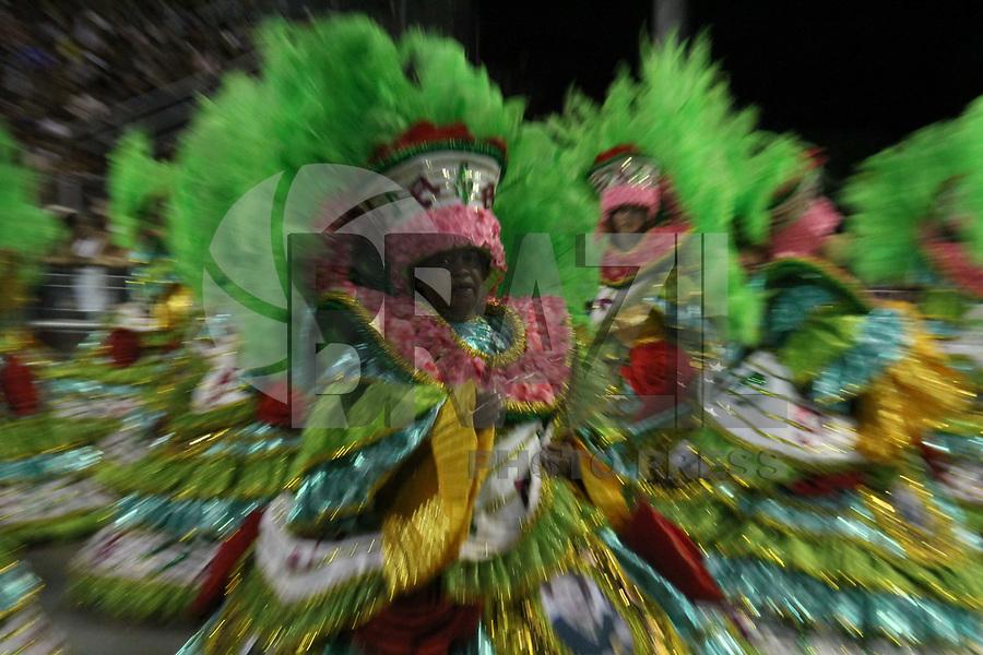 SÃO PAULO,SP,19.01.2019 - CARNAVAL-SP - Ensaio Técnico Geral da escola de samba Mancha Verde, no sambódromo do Anhembi localizado na zona norte de São Paulo na noite desta sexta-feira, 19. (Foto:Nelson Gariba/Brazil Photo Press)