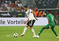 Sami Khedira (Deutschland Germany) gegen Abdullah Al-Khaibri (Saudi-Arabien) - 08.06.2018: Deutschland vs. Saudi-Arabien, Freundschaftsspiel, BayArena Leverkusen