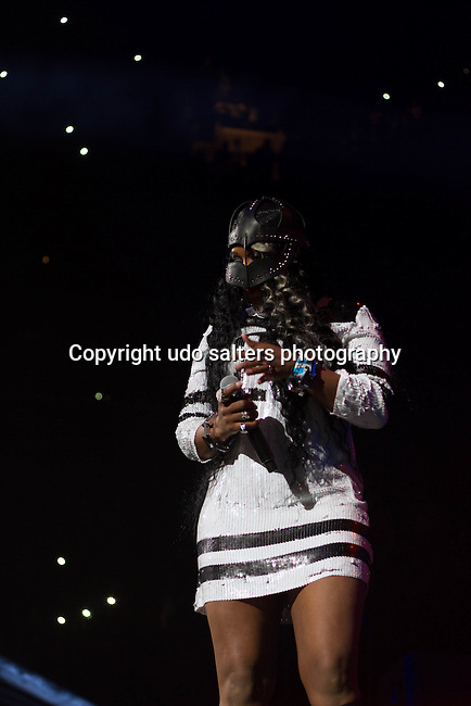 Remy MA Performs onstage during Power 105.1's Powerhouse 2014 at Barclays Center, Brooklyn, NY