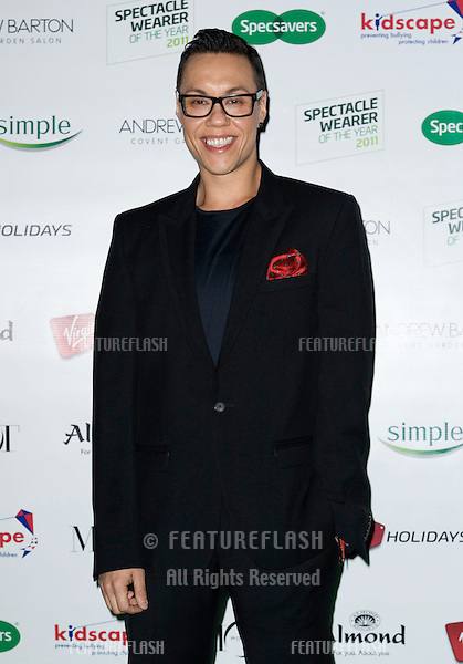 Gok Wan arriving for the Spectacle Wearer of the Year 2011 Awards, London. 16/11/2011  Picture by: Simon Burchell / Featureflash