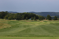 A view from the 2nd tee fairway during Round 1 of the D+D Real Czech Masters at the Albatross Golf Resort, Prague, Czech Rep. 31/08/2017<br /> Picture: Golffile | Thos Caffrey<br /> <br /> <br /> All photo usage must carry mandatory copyright credit     (&copy; Golffile | Thos Caffrey)