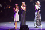 Singer Songwriter Jewel along with several local performers at the Vegas Cares fundraiser at the Venetian Theater Las Vegas rings in 2018 with fireworks from the top of the Stratosphere