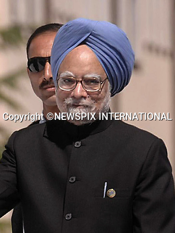 """INDIAN PRIME MINISTER MANMOHAN SINGH.G8 Summit, L'Aquila, Italy_10/07/2009.Mandatory Credit Photo: ©NEWSPIX INTERNATIONAL..**ALL FEES PAYABLE TO: """"NEWSPIX INTERNATIONAL""""**..IMMEDIATE CONFIRMATION OF USAGE REQUIRED:.Newspix International, 31 Chinnery Hill, Bishop's Stortford, ENGLAND CM23 3PS.Tel:+441279 324672  ; Fax: +441279656877.Mobile:  07775681153.e-mail: info@newspixinternational.co.uk"""