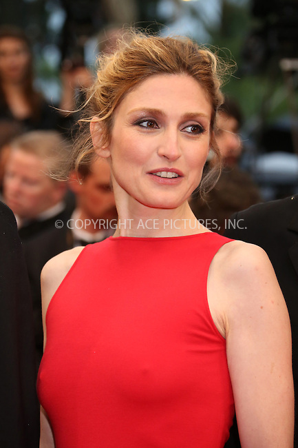 WWW.ACEPIXS.COM . . . . .  ..... . . . . US SALES ONLY . . . . .....May 20 2012, Cannes....Julie Gayet at the premiere of 'Amour' during the Cannes Film Festival on May 20 2012 in France ....Please byline: FAMOUS-ACE PICTURES... . . . .  ....Ace Pictures, Inc:  ..Tel: (212) 243-8787..e-mail: info@acepixs.com..web: http://www.acepixs.com