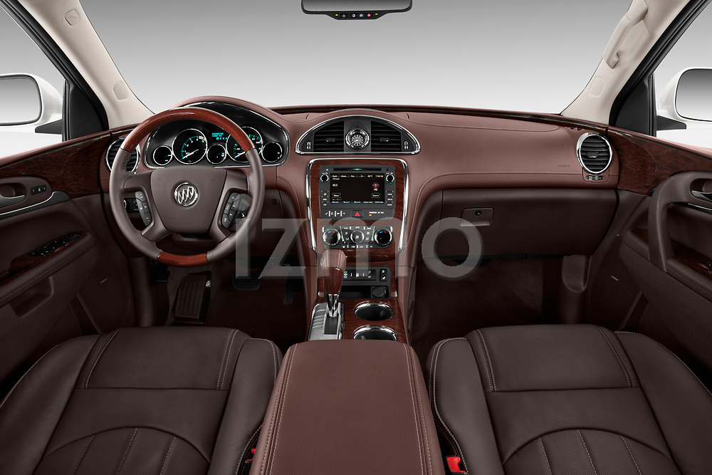 Dashboard view of a 2013 Buick Enclave