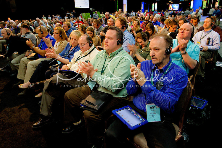 The Lowe's International Sales Meeting 2012 in Las Vegas at the Mandalay Bay Convention Center...Photo By: Patrick SchneiderPhoto.com.