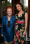 Edwina Sandys and Donna Murphy attends the Urban Stages' 35th Anniversary celebrating Women in the Arts at the Central Park Boat House on May 15, 2019 in New York City.