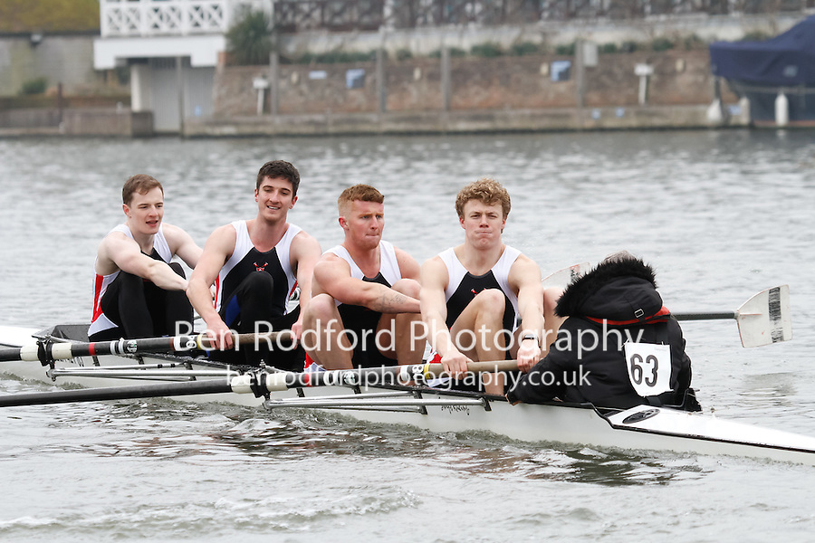 Crew: 63 - Coalporters  - NOV.4+ <br /> <br /> Henley Fours &amp; Eights Head 2017<br /> <br /> To purchase this photo, or to see pricing information for Prints and Downloads, click the blue 'Add to Cart' button at the top-right of the page.