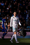 Gareth Bale of Real Madrid looks on during the La Liga 2017-18 match between Real Madrid and Deportivo Alaves at Santiago Bernabeu Stadium on February 24 2018 in Madrid, Spain. Photo by Diego Souto / Power Sport Images