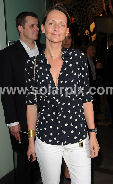 **ALL ROUND PICTURES FROM SOLARPIX.COM**.**WORLDWIDE SYNDICATION RIGHTS**.guests arrivals for the Chanel Boutique opening at Dover Street Market, London, UK. 10th June 2008..This pic: Saffron Aldridge..JOB REF: 6604 SSD     DATE: 10_06_2008.**MUST CREDIT SOLARPIX.COM OR DOUBLE FEE WILL BE CHARGED* *UNDER NO CIRCUMSTANCES IS THIS IMAGE TO BE REPRODUCED FOR ANY ONLINE EDITION WITHOUT PRIOR PERMISSION*