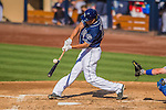 22 June 2013: San Diego Padres right fielder Will Venable in action against the Los Angeles Dodgers at Petco Park in San Diego, California. The Dodgers defeated the Padres 6-1 in the third game of their 4-game Divisional Series. Mandatory Credit: Ed Wolfstein Photo *** RAW (NEF) Image File Available ***