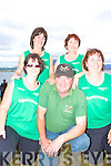 The Cromane Pre Vet Ladies crew at the All Ireland Rowing championships in Waterville were front l-r; Claire Kelly, Cox Jamie 'Sparrow' Teahan, Pauline O'Connor, back l-r; Trish Griffin & Doreen Houlihan.