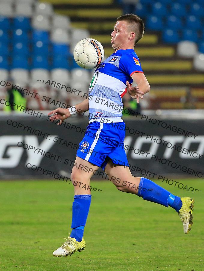 Fudbal Kup Srbije season 2015-2016<br /> Crvena Zvezda v Borac Cacak<br /> Stefan Vukmirovic<br /> Beograd, 12.02.2015.<br /> foto: Srdjan Stevanovic/Starsportphoto&copy;