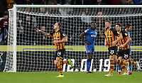 Hull City's Kamil Grosicki celebrates scoring his side's first goal <br /> <br /> Photographer Andrew Kearns/CameraSport<br /> <br /> The EFL Sky Bet Championship - Hull City v Bolton Wanderers - Tuesday 1st January 2019 - KC Stadium - Hull<br /> <br /> World Copyright © 2019 CameraSport. All rights reserved. 43 Linden Ave. Countesthorpe. Leicester. England. LE8 5PG - Tel: +44 (0) 116 277 4147 - admin@camerasport.com - www.camerasport.com