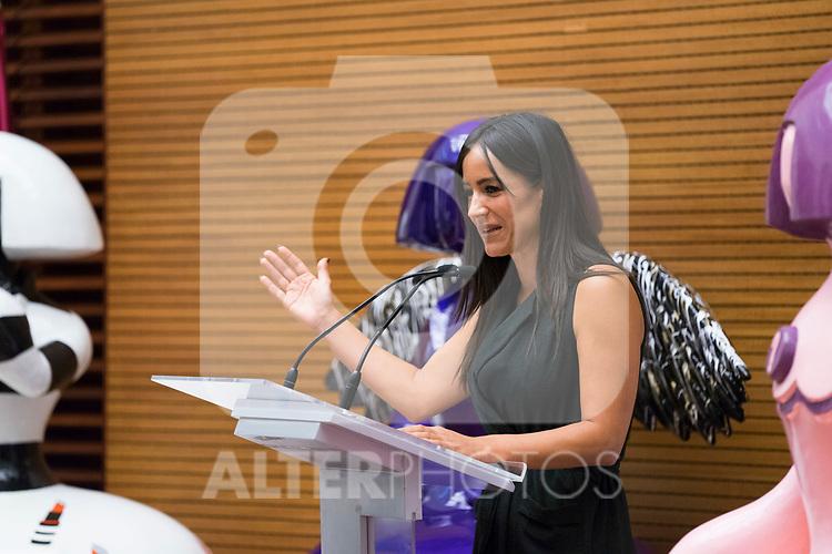 Vice Mayor of Madrid Begona Villacis during the presentation of 'Meninas Madrid Gallery' at Madrid town hall. October 01, 2019. (ALTERPHOTOS/Francis Gonzalez)