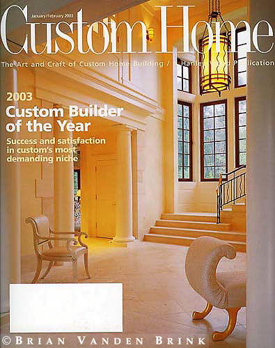Custom Home.January/February 2003