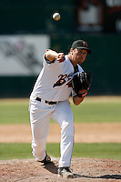 Evan Reed  of the Bakersfield Blaze playing against the Visalia Rawhide at Sam Lynn Field, Bakersfield, CA - 05/10/2009.Photo by:  Bill Mitchell/Four Seam Images