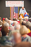 Dr. Angelo Codevilla, Ph.D., speaks about his recent work regarding The Ruling Class: How They Corrupted America and What We Can Do About It at a gathering of the Gathering of the Mother Lode Tea Party patriots at the Amador County Fairgrounds, Plymouth, July 14, 2010.