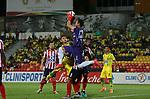 Atlético Bucaramanga igualó 1-1 ante Junior.  Fecha 9 Liga Águila II-2019.