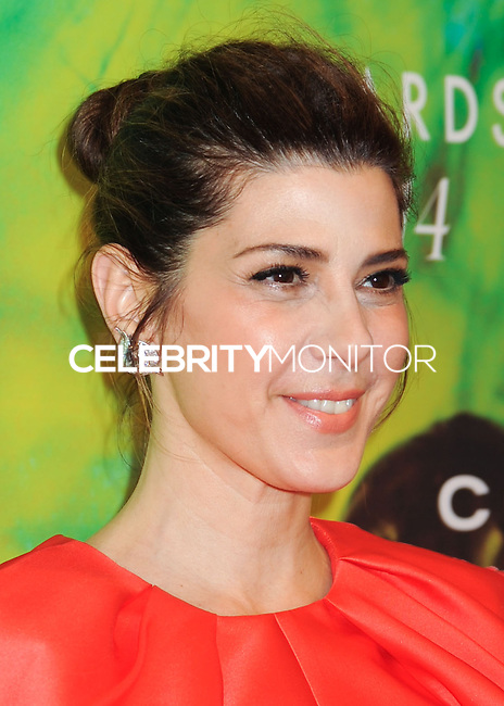 NEW YORK CITY, NY, USA - JUNE 16: Marisa Tomei arrives at the 2014 Fragrance Foundation Awards held at the Alice Tully Hall, Lincoln Center on June 16, 2014 in New York City, New York, United States. (Photo by Celebrity Monitor)
