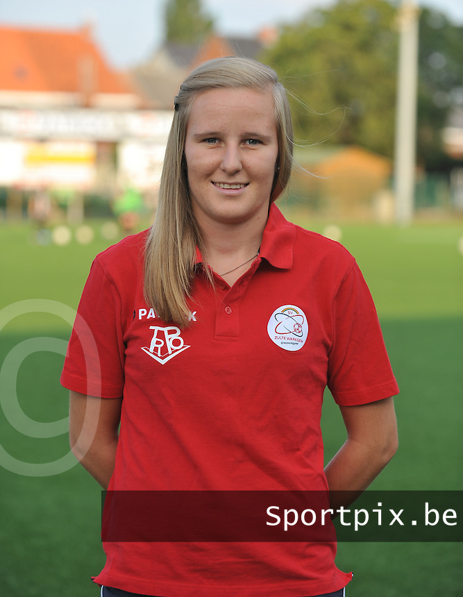 SV Dames Zulte Waregem : Elle Decorte.foto DAVID CATRY / Vrouwenteam.be