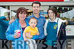 Marian Hanafin, Isaac Bolden and Geraldine Knightly pictured with Ryan Andrews (Fair City) on Thursday, May 26th last to officially open Spar, Caherslee, Tralee.