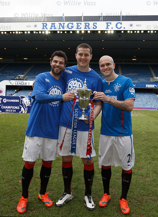 Richard Foster, Jon Daly and Nicky Law
