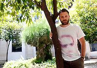 Lo scrittore Paolo Giordano ritratto in occasione del Festival Internazionale delle Letterature a Roma, 4 giugno 2014.<br /> Italian writer Paolo Giordano portrayed on the occasion of the International Literature Festival, in Rome, 4 June 2014.<br /> UPDATE IMAGES PRESS/Riccardo De Luca