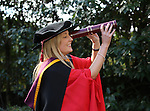 20/1/2015   (with compliments)  Attending the University of limerick conferrings on Monday morning was PHD graduate Maeve Kiely, Clogheen, Co. Cork.   Picture Liam Burke/Press 22