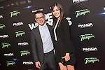Actor Elijah Wood and actress Sasha Grey attend `Open Windows´new film premiere at Palafox Cinemas in Madrid, Spain. June 30, 2014. (ALTERPHOTOS/Victor Blanco)