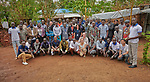 The staff of Jesuit Refugee Service in Maban County, South Sudan. <br /> <br /> Misean Cara provides support for the work of Jesuit Refugee Service in Maban.