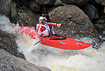 June 8, 2017 - Vail, Colorado, U.S. - Canadian, Nick Troutman, powers through Homestake Creek's Little Sunshine Rapid in the Steep Creek competition during the GoPro Mountain Games, Vail, Colorado.  Adventure athletes from around the world meet in Vail, Colorado, June 8-11, for America's largest celebration of mountain sports, music, and lifestyle.