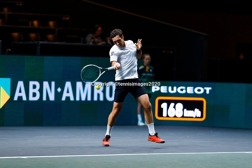 Rotterdam, The Netherlands, 12 Februari 2020, ABNAMRO World Tennis Tournament, Ahoy, Mikhail Kukushkin (KAZ).<br /> Photo: www.tennisimages.com