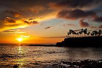 Sunset at Shaws Cove Laguna Beach