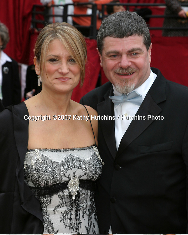 Gustova Santaolalla  & Wife.79th Annual Academy Awards.Kodak Theater .Hollywood & Highland.Hollywood, CA.February 25, 2007.©2007 Kathy Hutchins / Hutchins Photo....