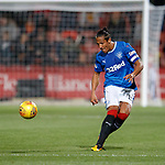 Bruno Alves pings an inch perfect pass upfield