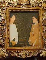 Imelda Marcos, with Gadaffi